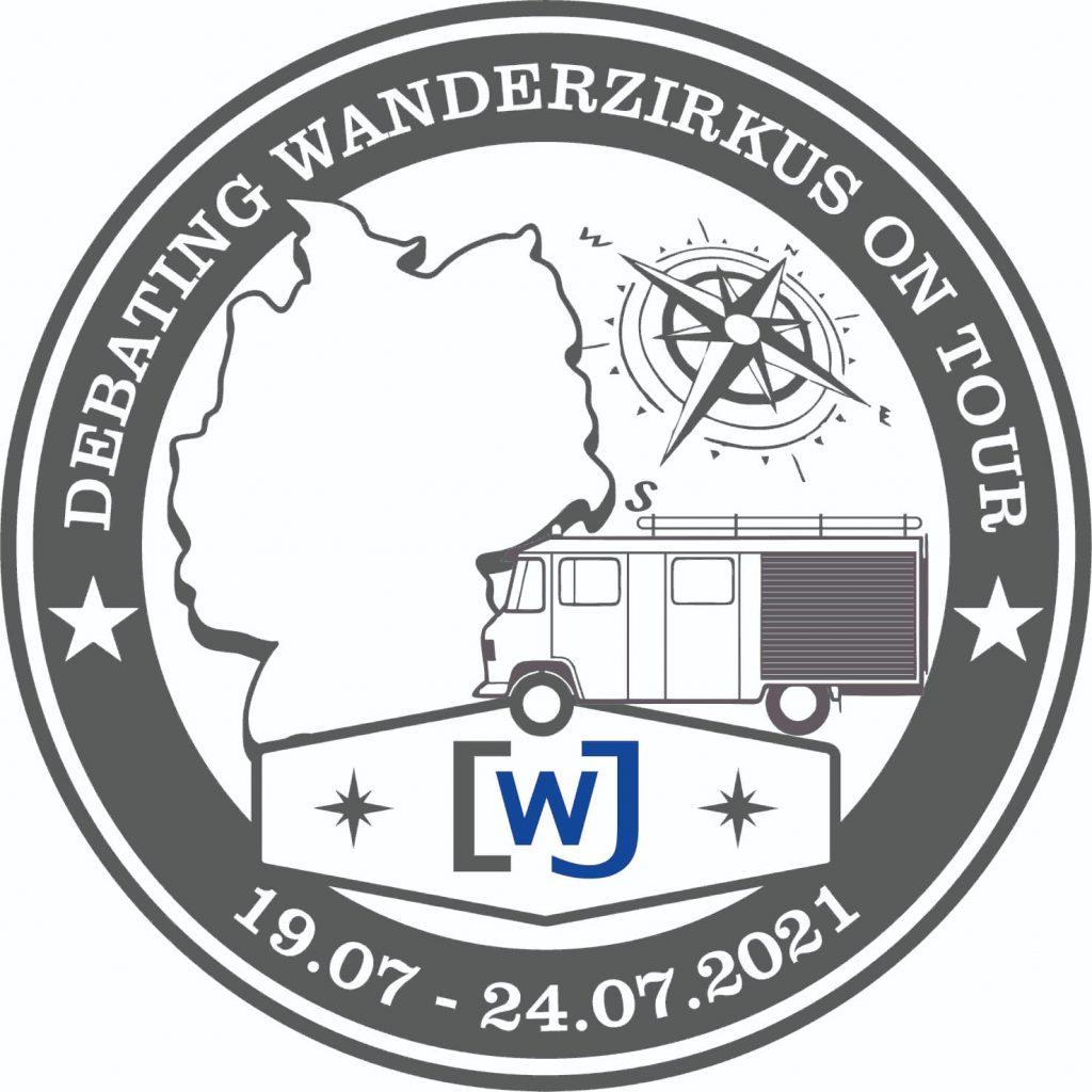 Debating-Wanderzirkus-Logo